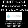 Songdrop's CEO Brittney Bean appears on the DMT 1-2-1 Show