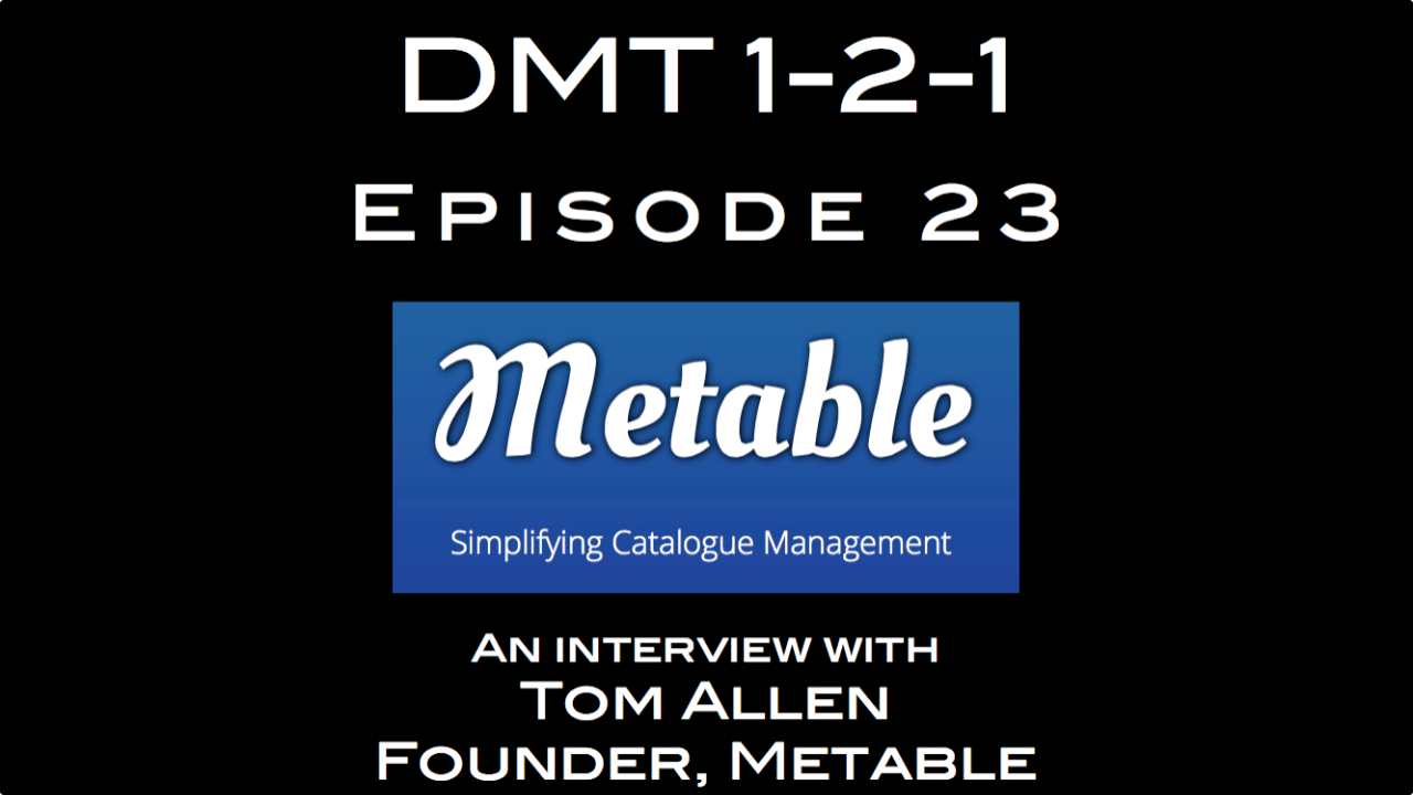 Metable, Tom Allen, DMT 1-2-1, Andrea Leonelli