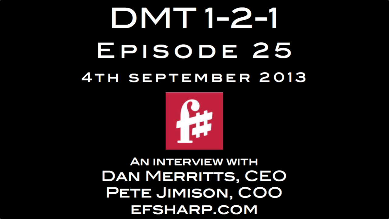 F Sharp chats to Digital Music Trends on the DMT 1-2-1 show