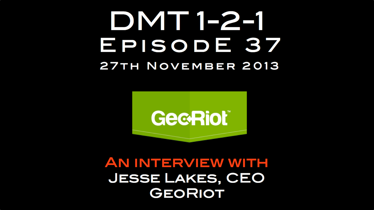 georiot dmt 1-2-1 digital music trends music industry