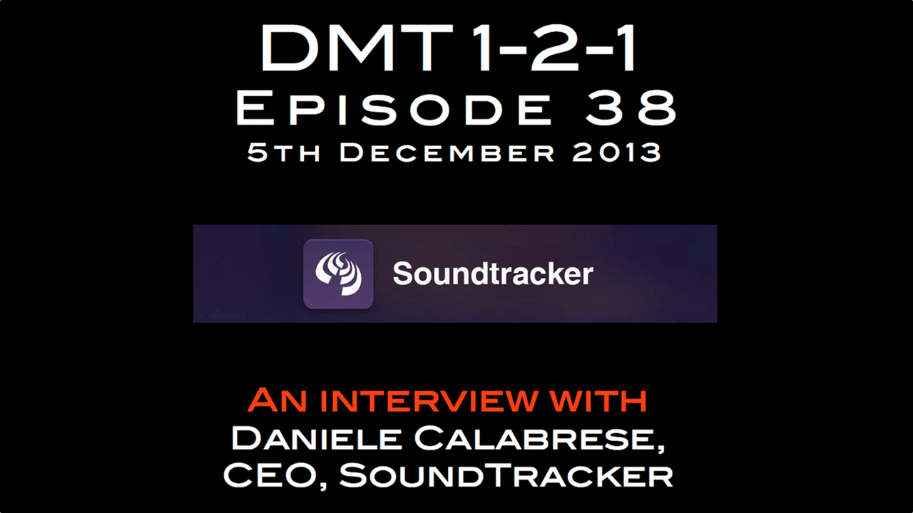 dmt 1-2-1 episode 38 soundtracker