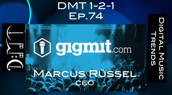 music industry podcast gigmit dmt 1-2-1