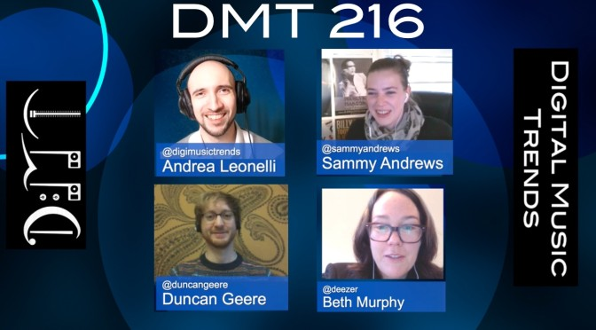 sammy andrews, duncan geere, beth murphy, andrea leonelli, digital music trends, music industry