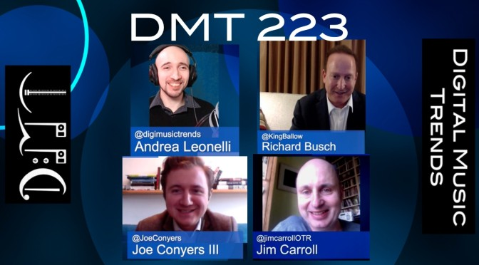DMT 223, Andrea Leonelli, Joe Conyers, Jim Carroll, Richard Busch